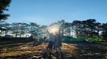 Tour cắm trại Dalat