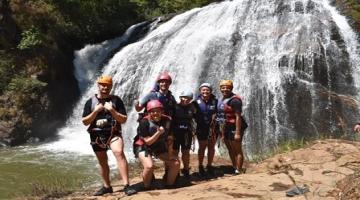 Trải nghiệm chinh phục 6 tầng thác Datanla (canyoning)